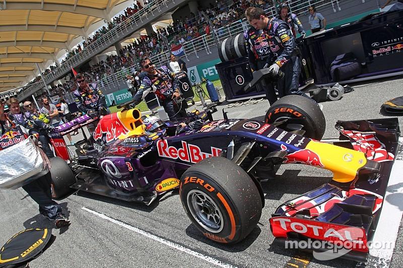 Ricciardo - Shanghai est très agressif pour les pneus avant