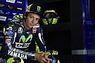 Valentino Rossi commence avec