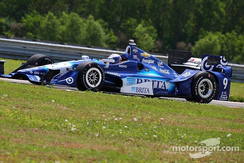 Dixon on top for third IndyCar practice at NOLA