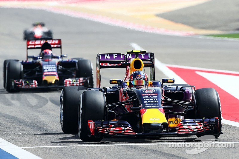 Renault redoute des abandons pour Red Bull et Toro Rosso