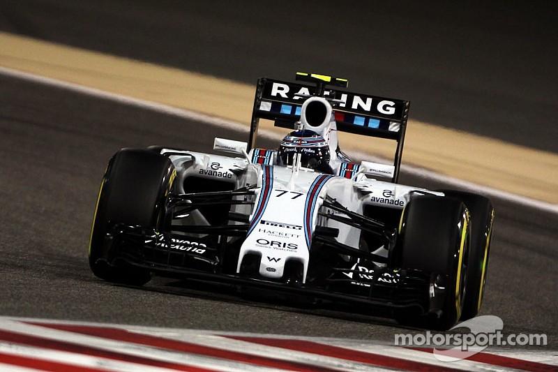 Bottas qualified fifth and Massa sixth for tomorrow's Bahrain GP