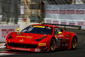 PWC Qualifying report Beretta takes GT pole at Long Beach