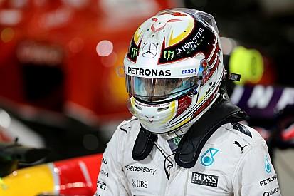 Hamilton en froid avec son fournisseur de casque