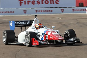 Indy Lights Qualifying report Pigot shatters the qualifying track record for the Legacy Indy Lights 100