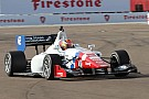 Pigot shatters the qualifying track record for the Legacy Indy Lights 100