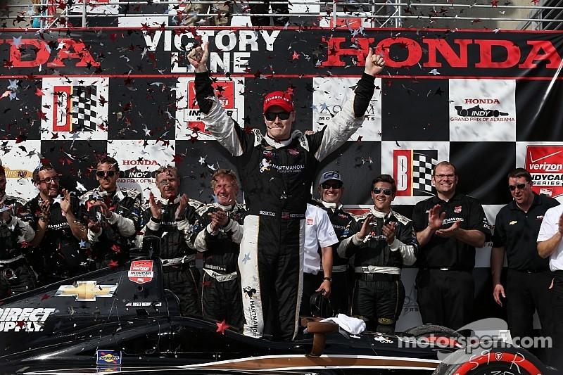 Ньюгарден выиграл захватывающую гонку в Алабаме
