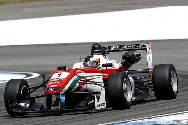 Розенквист победил во второй гонке в Хоккенхайме