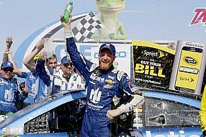 NASCAR Cup Race report Emotional Earnhardt earns Talladega victory