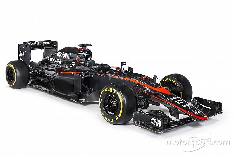 McLaren reveals new F1 livery