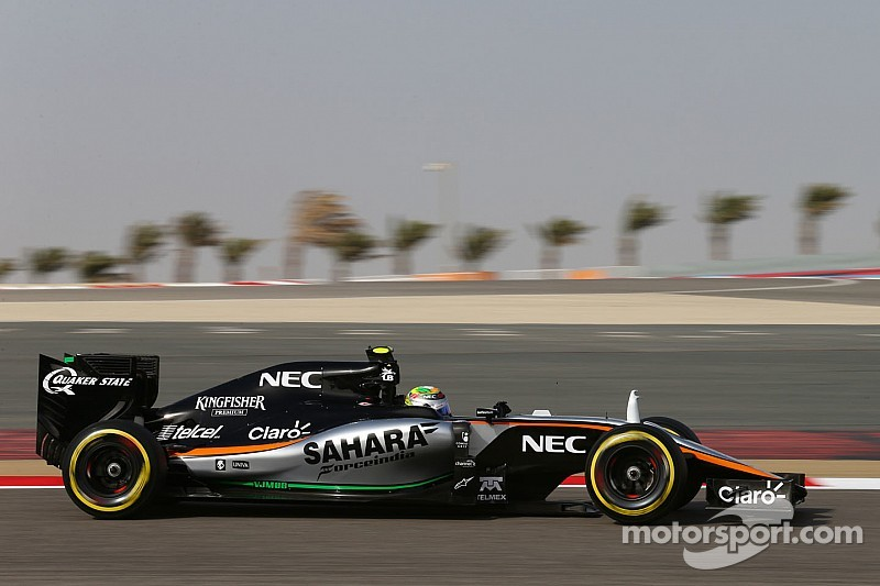 "Force India no tendrá mejoras hasta Silverstone, dice ""Checo"""