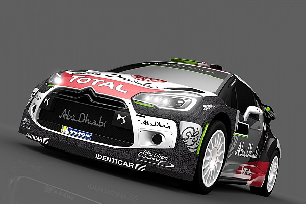 Une nouvelle livrée pour la Citroën DS 3 WRC