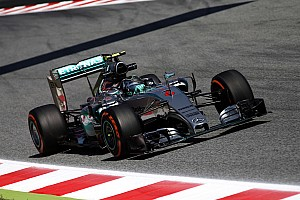 Formula 1 Practice report Encouraging start for Mercedes on opening day at the Circuit de Barcelona-Catalunya