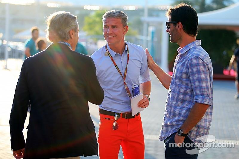 Pilotos estão desapontados com a lentidão dos atuais carros, opina Coulthard