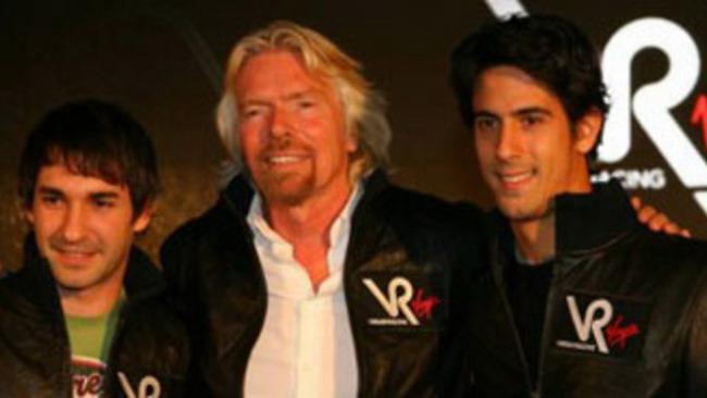 F1: la Virgin si presenta online