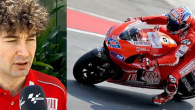 MotoGP 2010, Team Ducati: Alessandro Cicognani