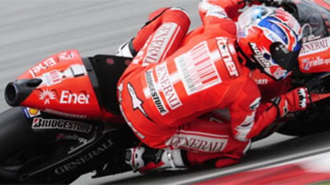 MotoGP 2010, Sepang/2, Test day/3: Ducati alla ribalta