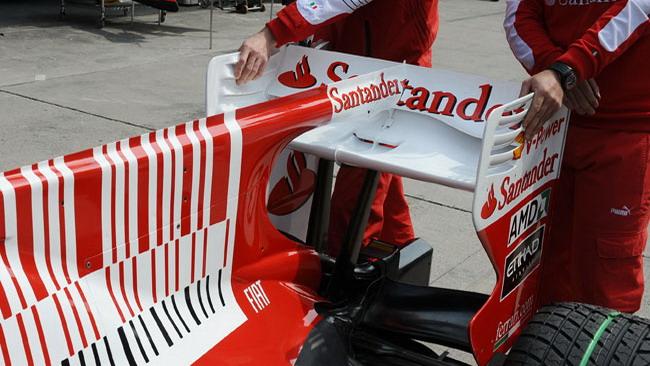 La Ferrari F10 a Vairano con l'F-Duct