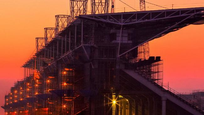 Gp di Corea: l'impianto è completato all'80%