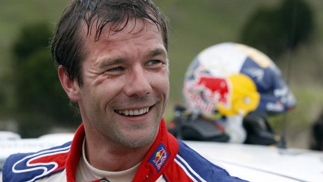 Sebastien Loeb debutta sulla Ferrari