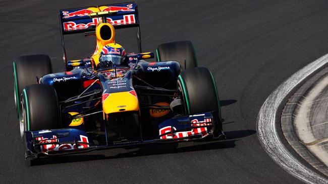 Webber è strepitoso con la Red Bull