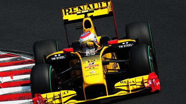 La Renault debutta con l'F-duct a Spa