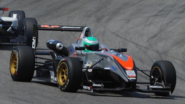 Krohn dalla pole alla vittoria in gara 2