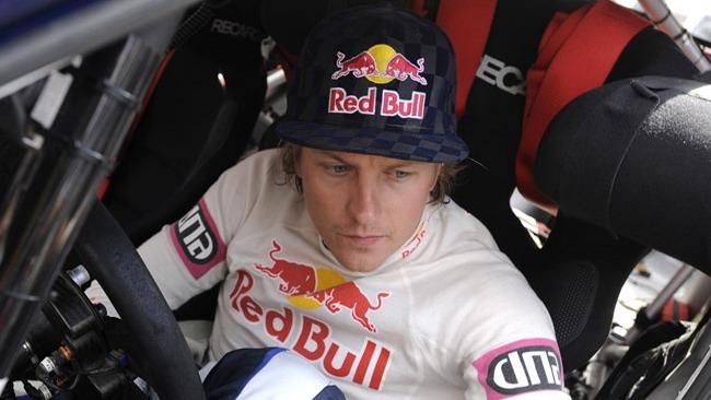 Raikkonen vuole i rally, ma è ancora senza volante