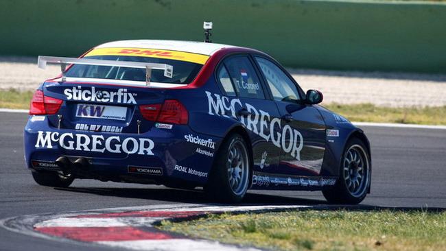 BMW: Coronel in pista a Vallelunga con il 1.6 turbo