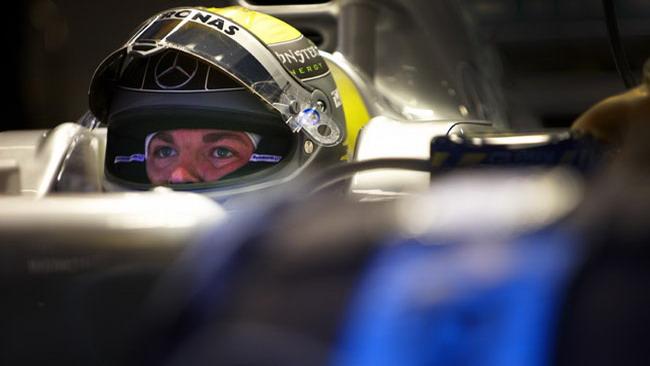 Barcellona, Day 5: la pioggia esalta Rosberg
