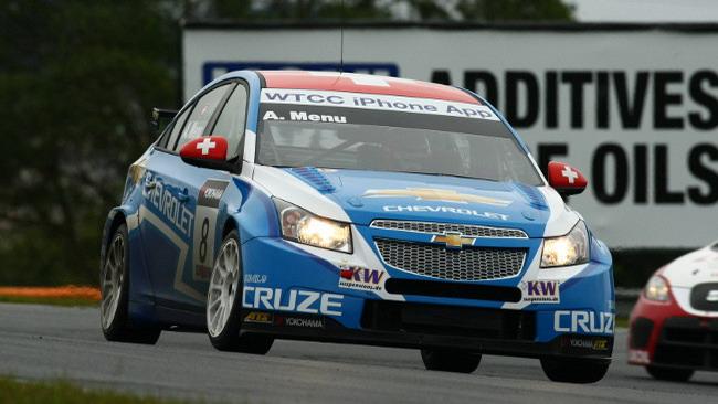 Alain Menù promosso in pole per gara 2