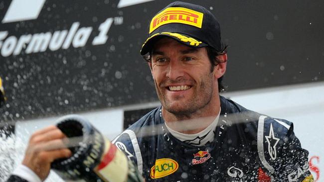 Webber si gode la sua grande rimonta