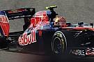 La Toro Rosso perde una ruota dopo il pit stop