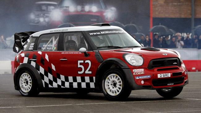 Ultimi test in vista del debutto per la Mini WRC