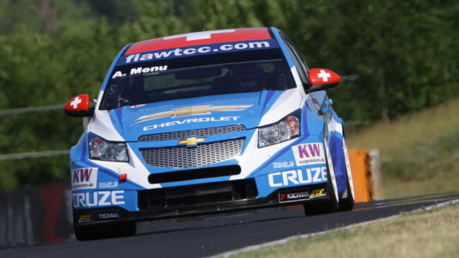Prima fila tutta Chevrolet all'Hungaroring