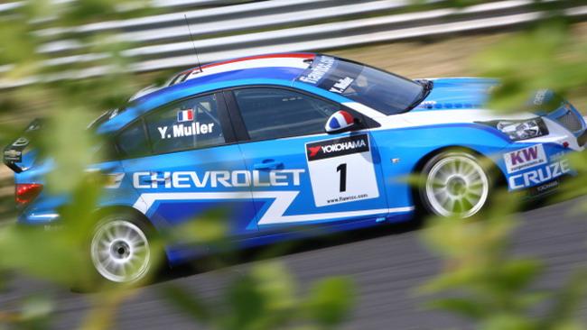 Yvan Muller alla prima vittoria del 2011