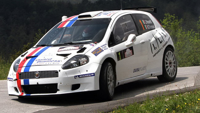 Rossetti torna nell'Europeo all'Ypres Rally