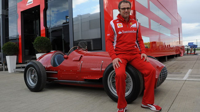 Torna in pista la 375 F1 di José Froilan Gonzalez