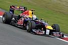 Vettel non sembra troppo deluso del terzo tempo