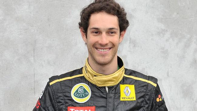 Bruno Senna sulla Lotus Renault in Ungheria