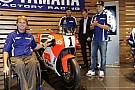 Rainey visita la factory del team ufficiale Yamaha