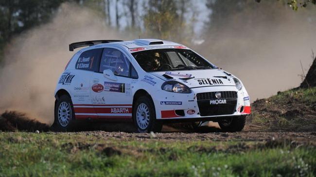 Rossetti torna in testa all'Europeo Rally