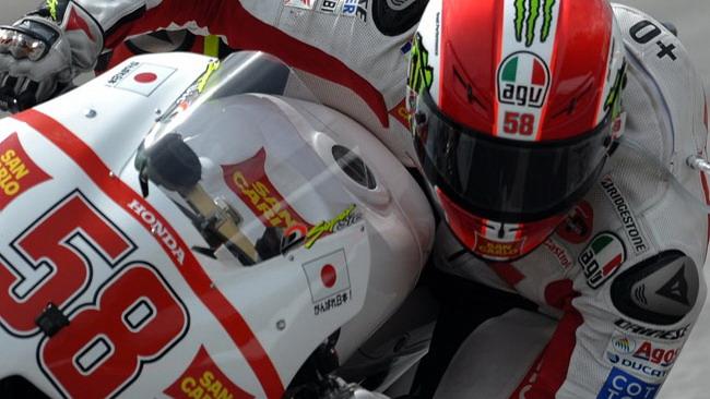 Il cordoglio della Ferrari per la morte di Simoncelli