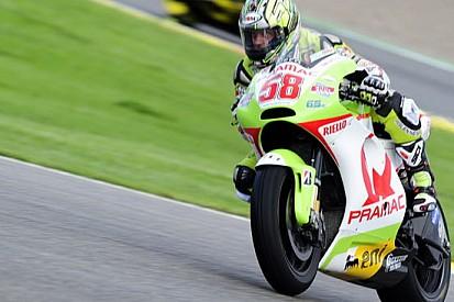 Capirossi corre con il numero 58 a Valencia