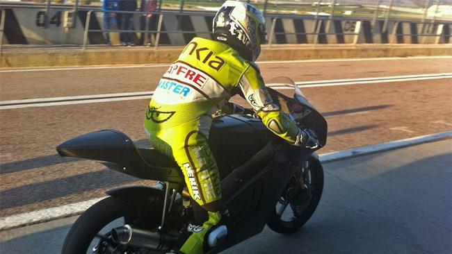 Faubel ha portato al debutto la Kalex-KTM