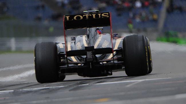 La Lotus diventa nera e oro anche in Indycar