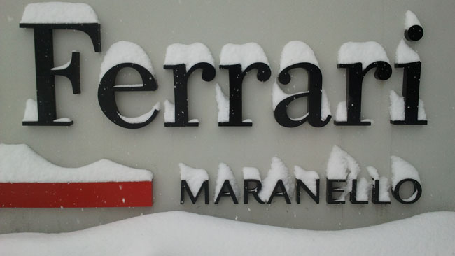 La nuova Ferrari sarà visibile alle 10 sul web