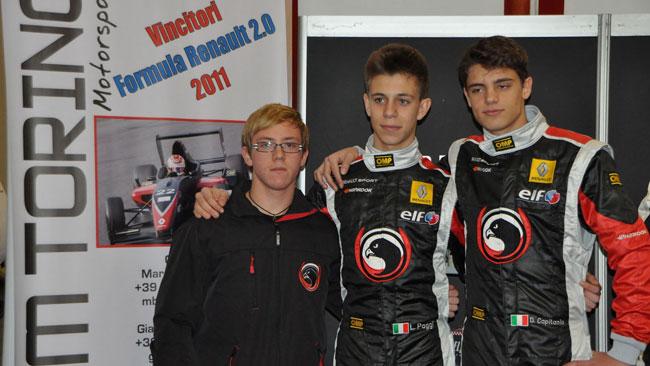 Il Team Torino Motorsport annuncia la sua formazione