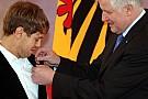 Vettel premiato dal presidente della Germania