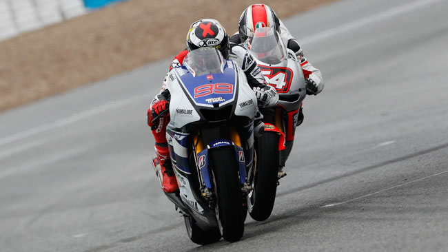 Jerez, Day 3, Ore 14: Lorenzo scende sotto all'1'39!