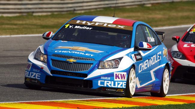 Muller domina la prima frazione a Valencia
